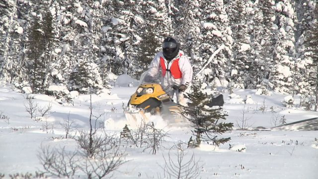 TheCamp (2010), Episode 12 - Winter Caribou , in James Bay