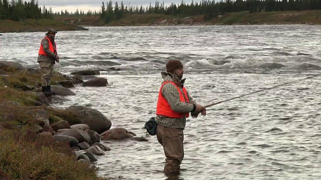 TheCamp (2010), Episode 07 - Leaf River lodge, Caribou Hunting and atlantic salmon fishing